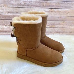 UGG Shoes - UGG Chestnut Bailey Bow II Boots